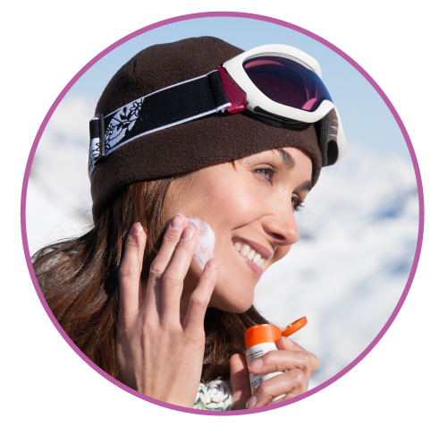corriger peau après ski